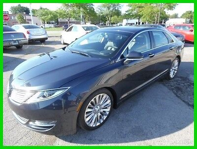 2014 Lincoln MKZ/Zephyr AWD Ecoboost 2014 AWD Ecoboost Used Turbo 2L I4 16V Automatic AWD Sedan Premium clean clear