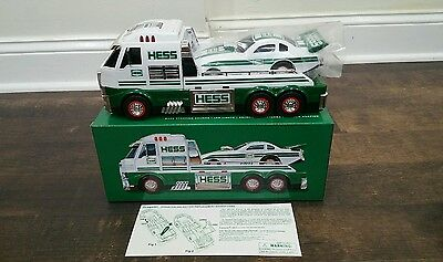 Hess 2016 Toy Truck and Dragster NIB