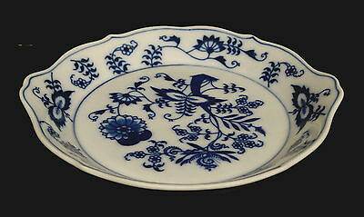 Small U.S. Patent Marked Blue Danube Serving Dish, Perfect Condition.