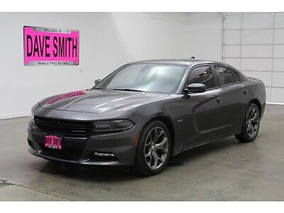 2015 Dodge Charger R/T Sedan 4-Door 15 Dodge Charger RT Auto Power Windows Remote Start Sunroof Keyless Entry