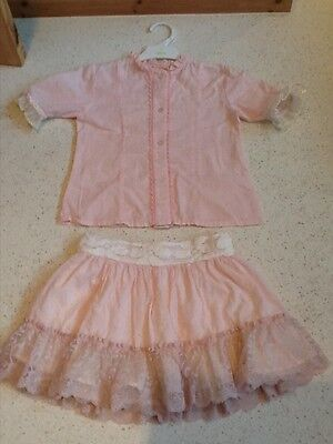 young girls pretty summer outfit from spain age 5 years approx!