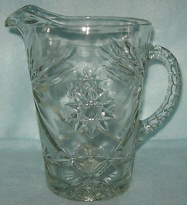 Early American Prescut Large Pitcher 54 Ounce EAPC