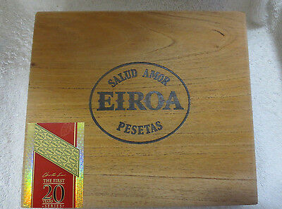 Eiroa Prensado The 20 First Wood Cigar Box -  Nice!