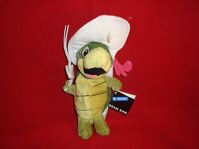 Warner Bros Studio Store-Touche Turtle-Cool Hat-Bean Plush-1998-Retired-New/tags