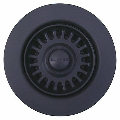 "Blanco 441090 Anthracite Basket Strainer and Sink Flange 3 1/2"" in Anthracite"