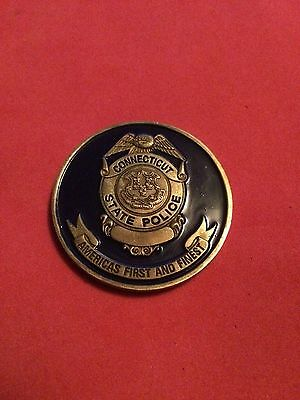 Connecticut State Police Challenge Coin