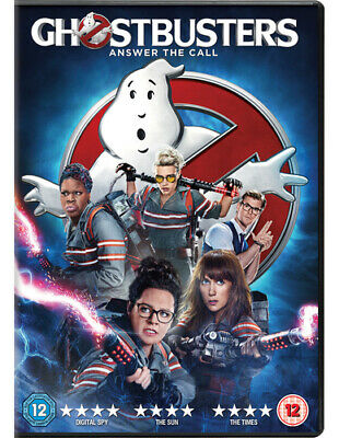 Ghostbusters DVD (2016) Chris Hemsworth, Feig (DIR) cert 12 Fast and FREE P & P