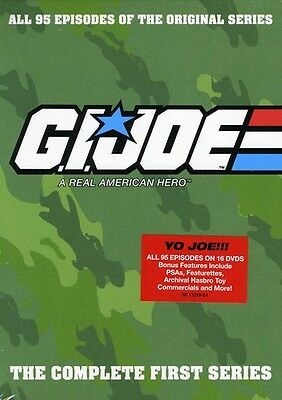 G.I. Joe: A Real American Hero - The Complete First Ser (2012, REGION 1 DVD New)