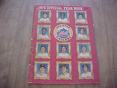 1973 New York Mets Official Baseball Year Book