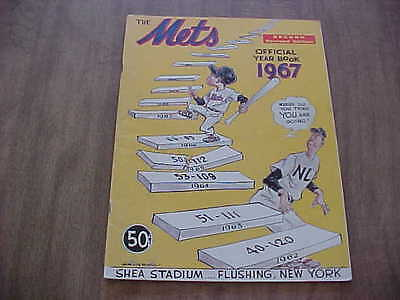 1967 New York Mets Official Baseball Year Book (Second Revised Edition)