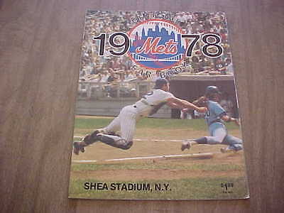 1978 New York Mets Official Baseball Year Book