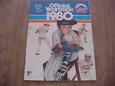 1980 New York Mets Official Baseball Yearbook