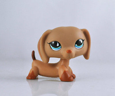 Pet Dachshund Dog Collection Child Girl Boy Figure Littlest Toy Loose LPS832