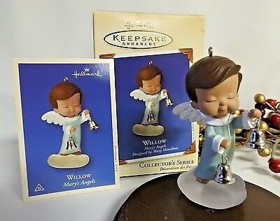 Hallmark Ornament 2002 Willow  Mary's Angels #15 Series