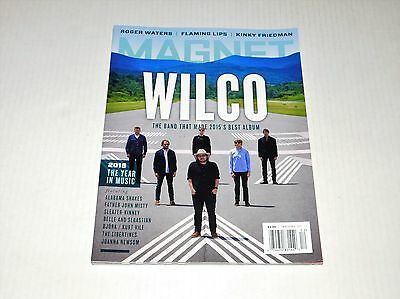 Magnet Magazine Issue #127 Best of Music 2015 Wilco NEW RARE