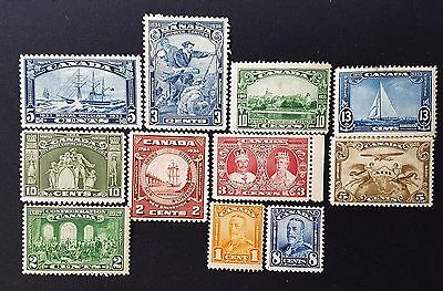 Canada 1933 to 1935 Mint Stamps Set Collection CV £113.00