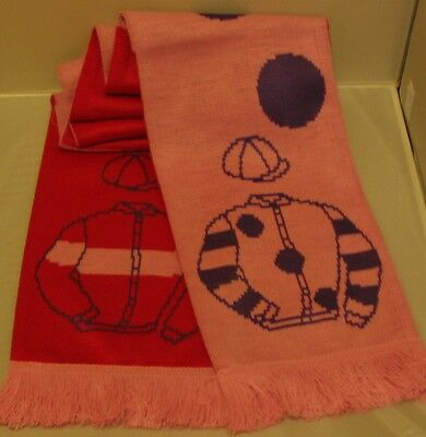 Silviniaco Conti dual owner scarf - in their racing colours
