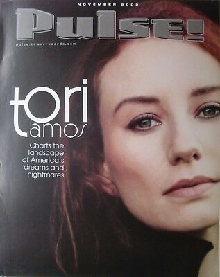 """Tori Amos """"pulse & Choirgirl"""" Posters: 2 In 1 Auction!"""