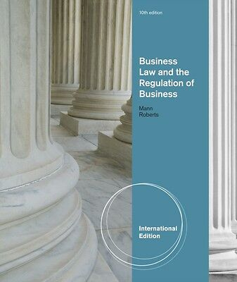 Business Law and the Regulation of Business, International Edition (Paperback),.