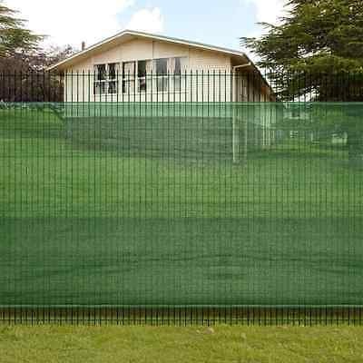 S# New 1.5x10m Mesh Garden Fence Windscreen Privacy Screen Net Wire Fencing Outd