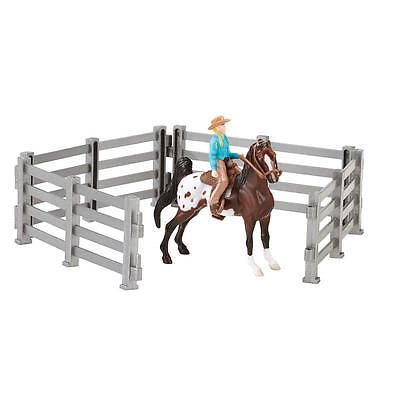 New Breyer Stablemates Horse and Riders Set Model:23025627