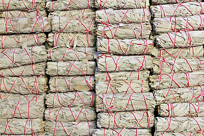 """Lot 50 White Sage Smudge Stick Wands 4"""" - 5"""" House Cleansing Negativity Removal"""