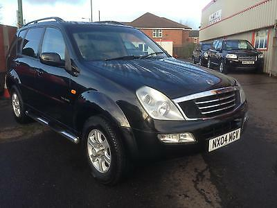 04/04 Ssangyong Rexton 2.9TD RX 290 S 4x4 Two Previous owners