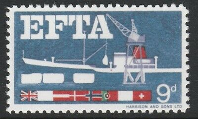 Great Britain (160) 1967 EFTA 4 colours missing  - a Maryland FORGERY unused