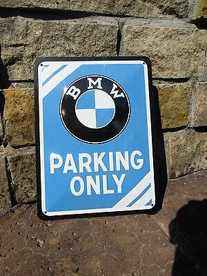 BMW Parking Only - Official Small Wall Sign - Made in Germany - Licensed by BMW