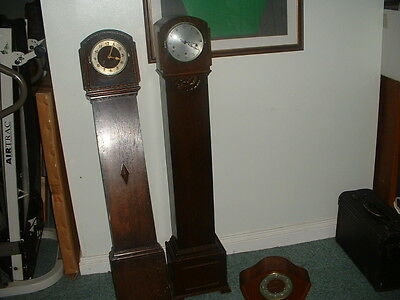 Antique and vintage clocks (3) 1 mantle 2 grandmother?? all chiming
