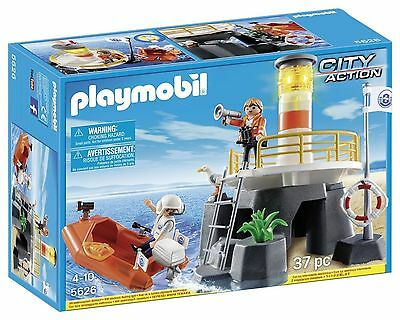 Playmobil Lighthouse with Rescue Craft  5626