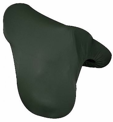 HUNTER GREEN Lycra English Saddle Cover Full Coverage One Size Fits