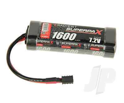 Radient RDNA0090 7.2V Battery 6-Cell 1600mAh NiMH Stick HCT for Helion Animus