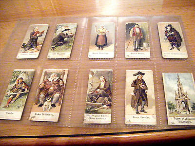 """Pick-A-Card From Cope's """"characters From Scott""""  1900 - Narrow Card"""