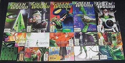 Green Arrow (2001) #1-15 Kevin Smith Complete Cw Dc Comics Flash