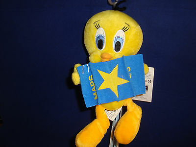 Warner Bros Studio Store-Hollywood Map Tweedy Bird Bean Plush-New/tags-Retired