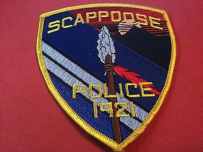 Scappoose Police Patch