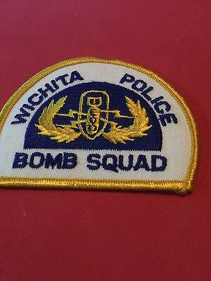 Wichita Bomb Squad old style Police Patch