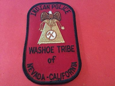 Washoe Tribe of Nevada and California Police Patch