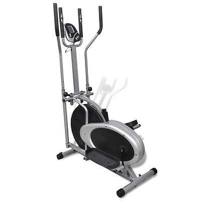 Heimtrainer Ergometer Fitness Stepper Walking Ellipsentrainer Crosstrainer #S