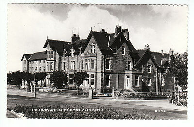 The Links And Bruce Hotel (Closed) Carnoustie Angus 1965 Real Photograph