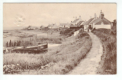 Westhaven Fishing Village Carnoustie Angus 1893 Hogarth Redpath Earlston Melrose