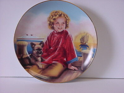Shirley Temple Stowaway Danbury Mint Collector Plate