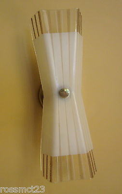Vintage Lighting matched pair Mid Century sconces by Imperialites