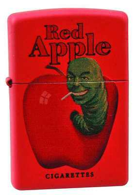 PULP FICTION RED RED APPLE VARIANT ZIPPO LIGHTER DIAMOND SELECT TOYS  #snov16-27