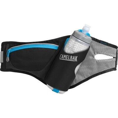 CamelBak 2017 Delaney Belt & Podium Chill Water Bottle Set - Black / Atomic Blue
