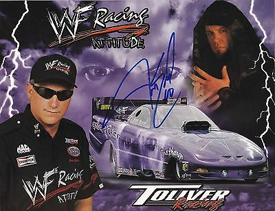 Jim Epler Autographed Photo NHRA Toliver Racing WF