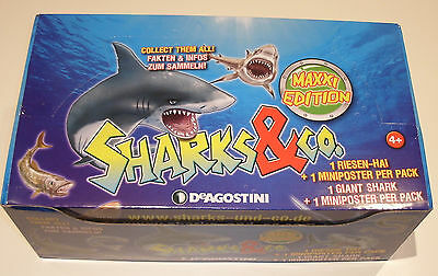 DeAgostini Sharks & Co. Maxxi Edition - 1 x Display / 16 Booster NEU & OVP