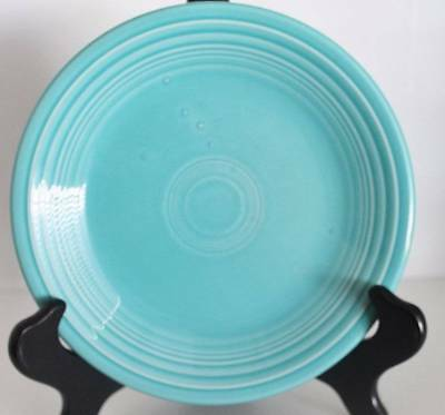 Vintage Homer Laughlin Fiesta Aqua Blue Saucer~~Usa~~(#73)