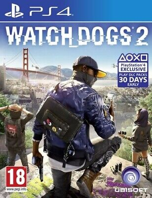 WATCH_DOGS 2 (PS4) PEGI 18+ Adventure: Free Roaming Expertly Refurbished Product